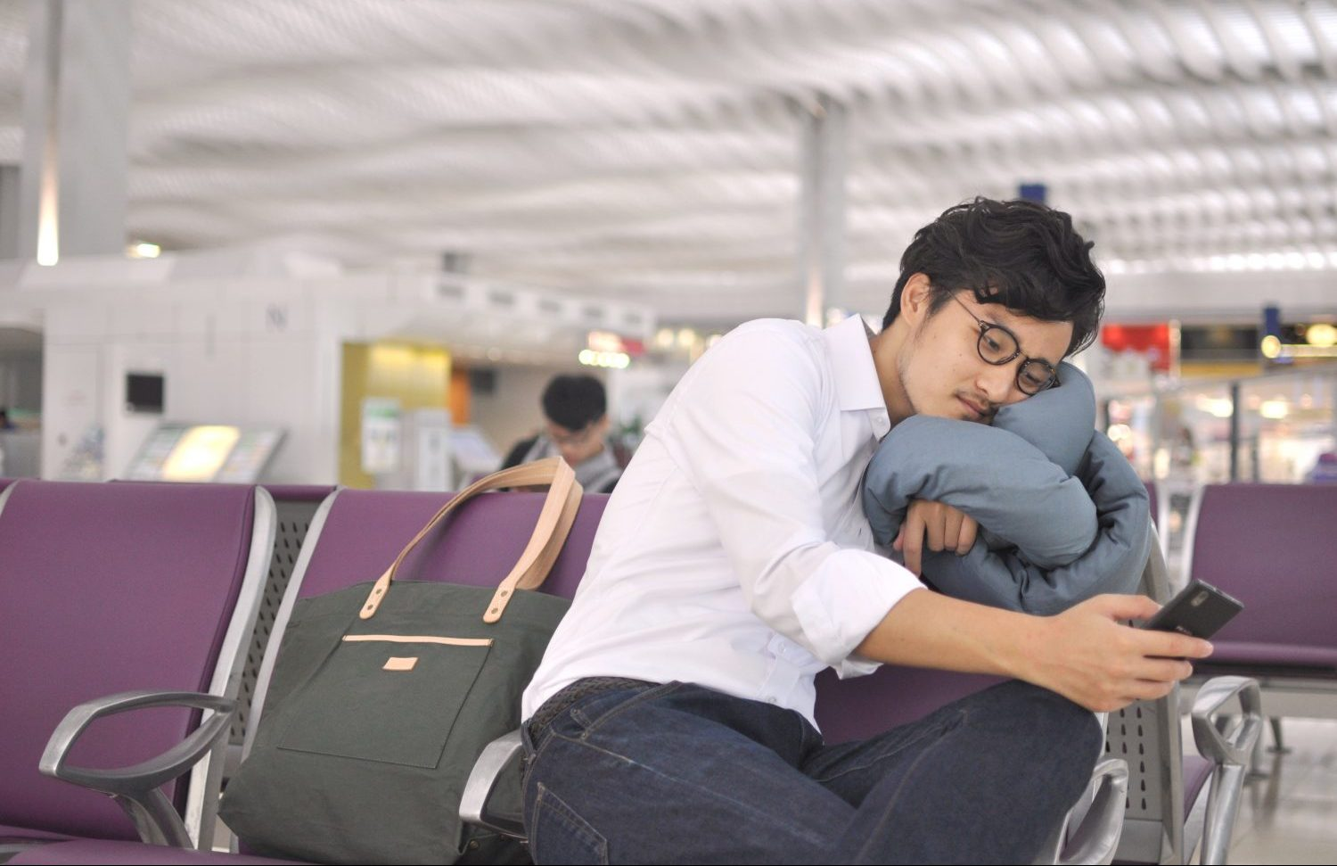 Infinity Pillow-Airport